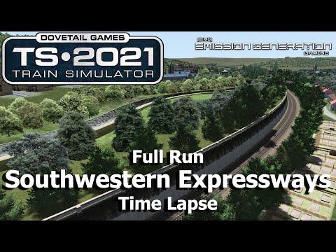 Southwestern Expressways - Time Lapse - Train Simulator 2021 |