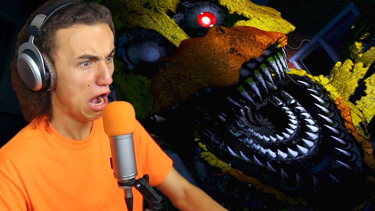 DON'T BE SCARED! – (Five Nights At Freddy's 4)