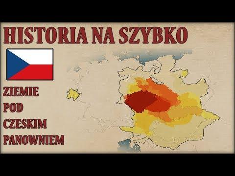 Ziemie pod panowaniem Czech latami, na mapach - Historia na Szybko