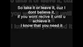 Rock Mafia - Fly Or Die (Lyrics)