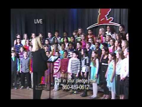 Torringford School Chorus St. Jude Telethon 2015