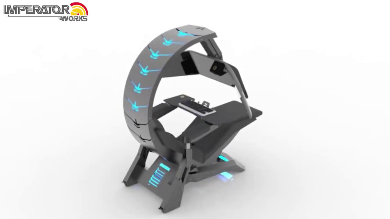 Imperatorworks Ultimate Gaming Cockpit Workstation Chair C4 Youtube