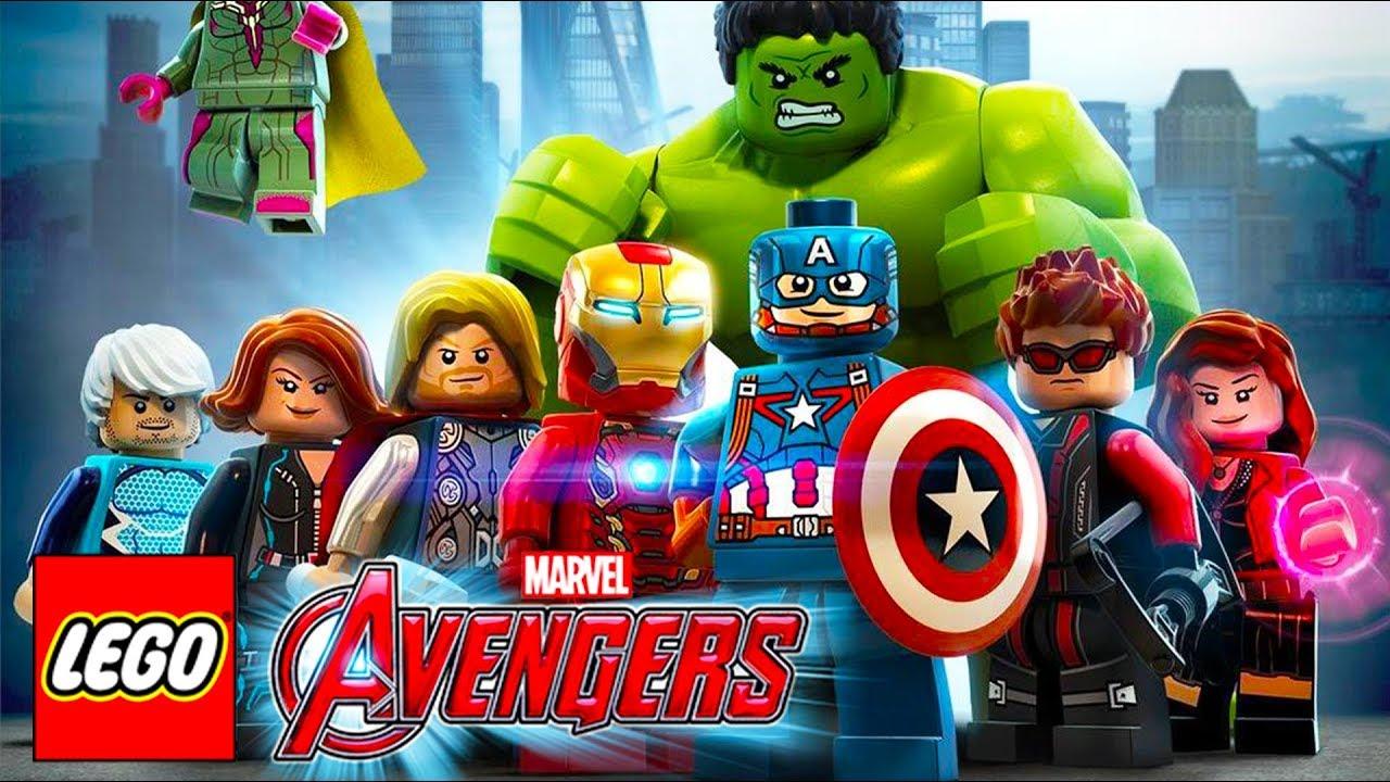 Os Vingadores Lego Marvel Super Herois Jogos De Desenho Animado Em