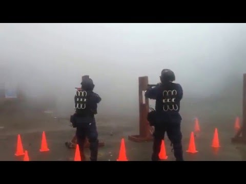 Shooting Munitions with my Riot Squad