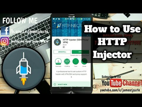 How to Get Free Internet Using HTTP Injector TUTORIAL 2017