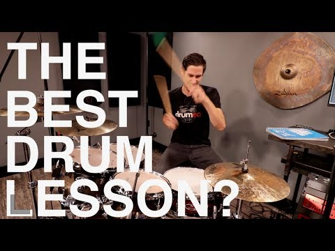 THE BEST DRUM LESSON? - Free Drum Lesson!