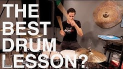THE BEST DRUM LESSON? - Free Drum Lesson!
