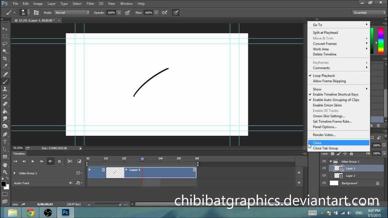 Quickstart photoshop animation tutorial video timeline layers quickstart photoshop animation tutorial video timeline layers youtube ccuart Choice Image