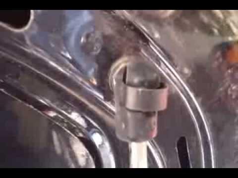 Замена демпфера капота Пассат Б5 ALZ, 1,6L