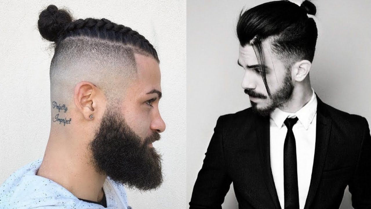 Top 10 Man Bun Hairstyles 2018 New Top Knot Hairstyles For Men 2018 Youtube