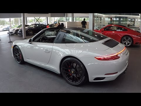 2017 Paint to Sample Fashion Grey Porsche 911 Targa 4 GTS 450 hp @ Porsche West Broward