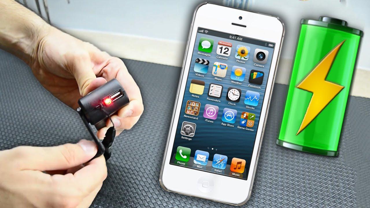 Зарядка для смартфона своими руками