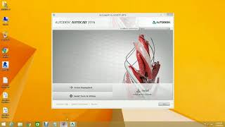 How to install Autocad 2016 in window 7, 8 and 10