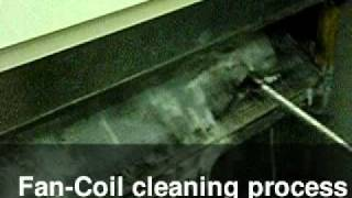 Fan-Coil cleaning process