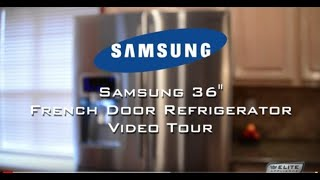 Samsung 4-door French Door Refrigerator Video Tour (rf4287hars)