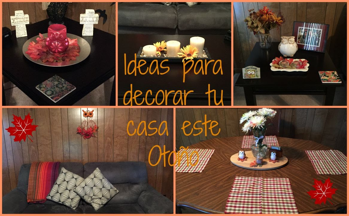 Ideas para decorar tu casa este oto o house tour oto al youtube - Ideas para decorar vestibulos ...