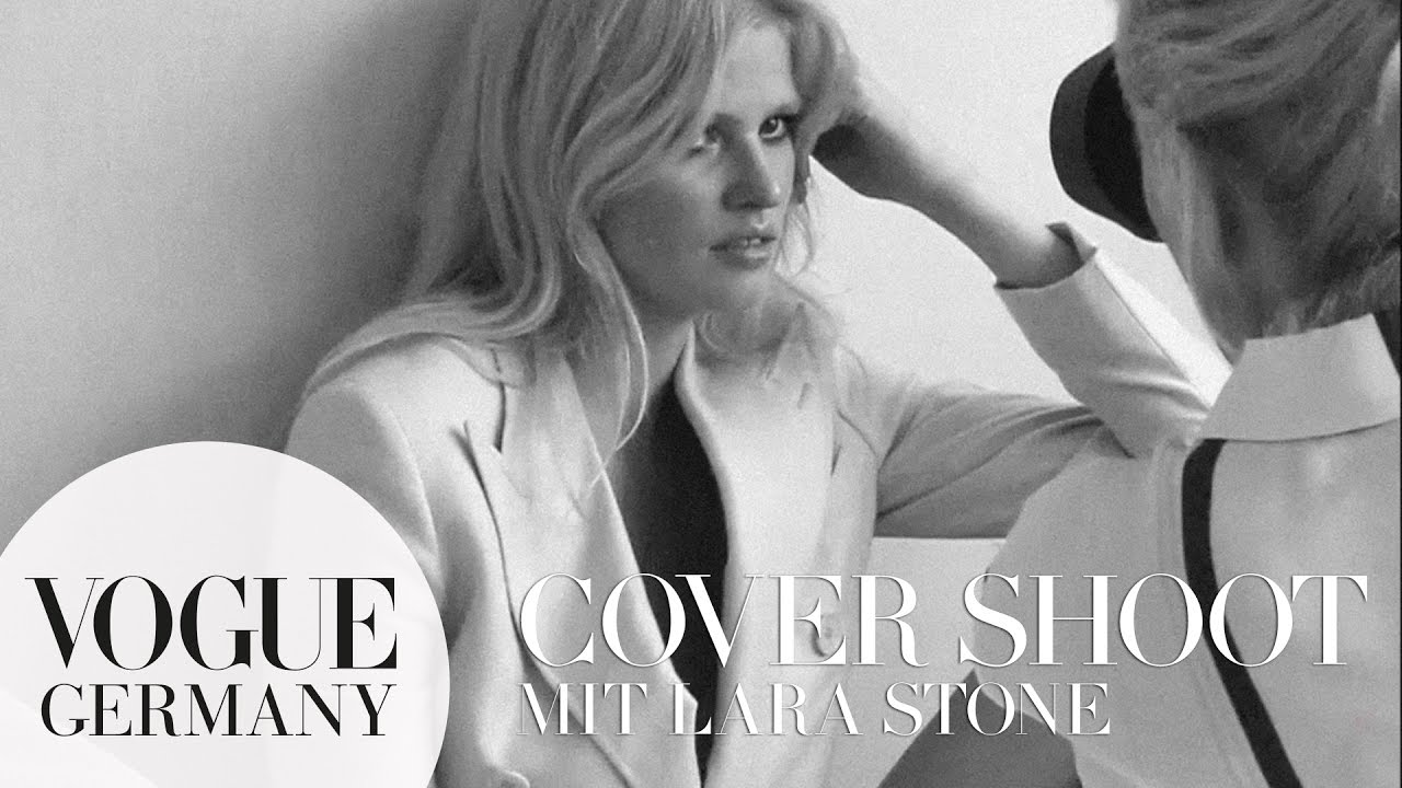 Lara Stone hautnah beim Cover-Shoot in Paris – Models backstage | VOGUE Behind the Scenes