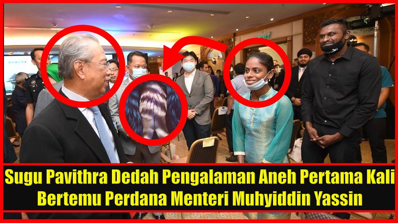 Tak Sangka Ini Jadi Pada Sugu Pavithra Saat Pertama Kali Bertemu Perdana Menteri Muhyiddin Yassin