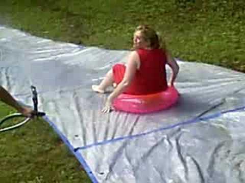 Tarps Make The Best Water Slides Youtube