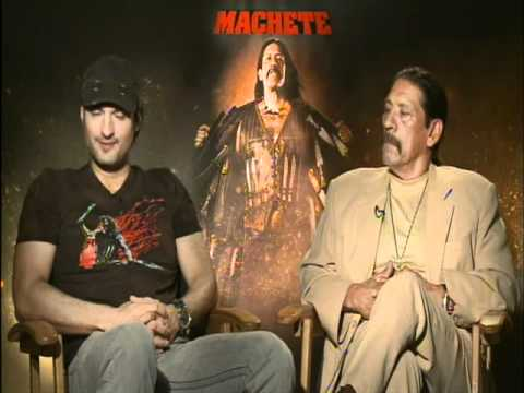 Interview with Danny Trejo and director Robert Rodriguez for Machete