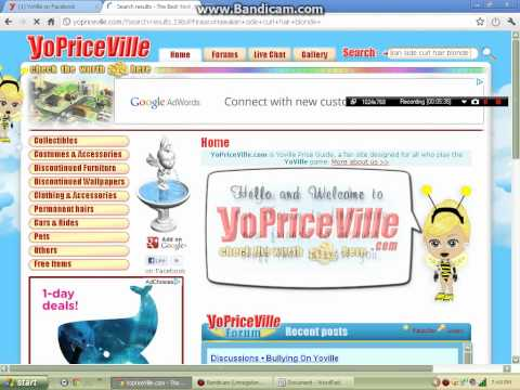 How to use Yoville Price Guides