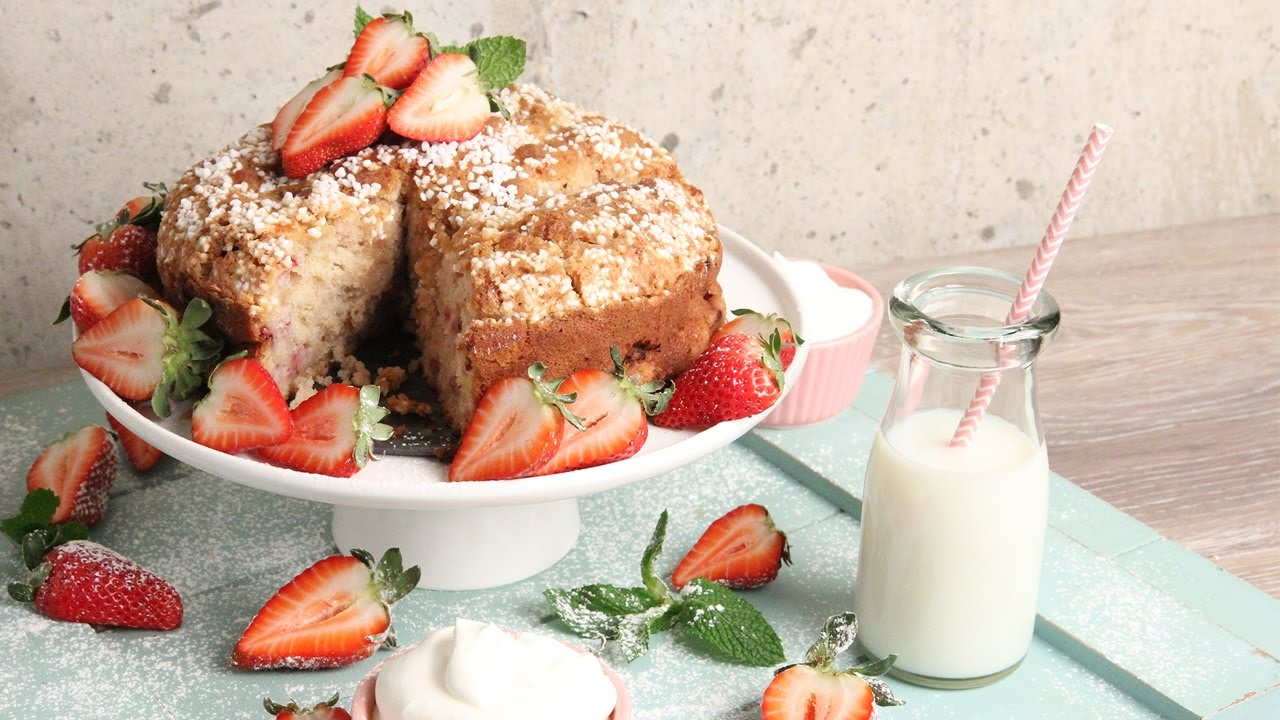 Laura In The Kitchen Strawberry Coffee Cake