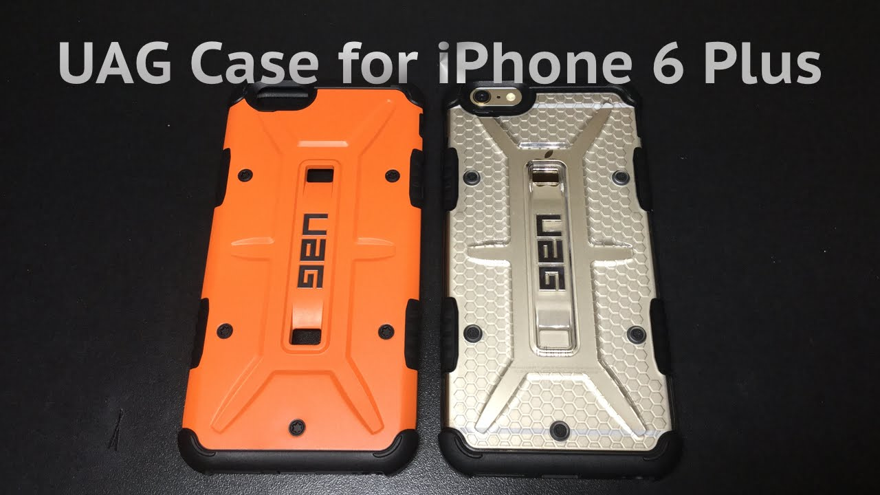 on sale 73fd7 0b462 Review: UAG Case for iPhone 6 Plus