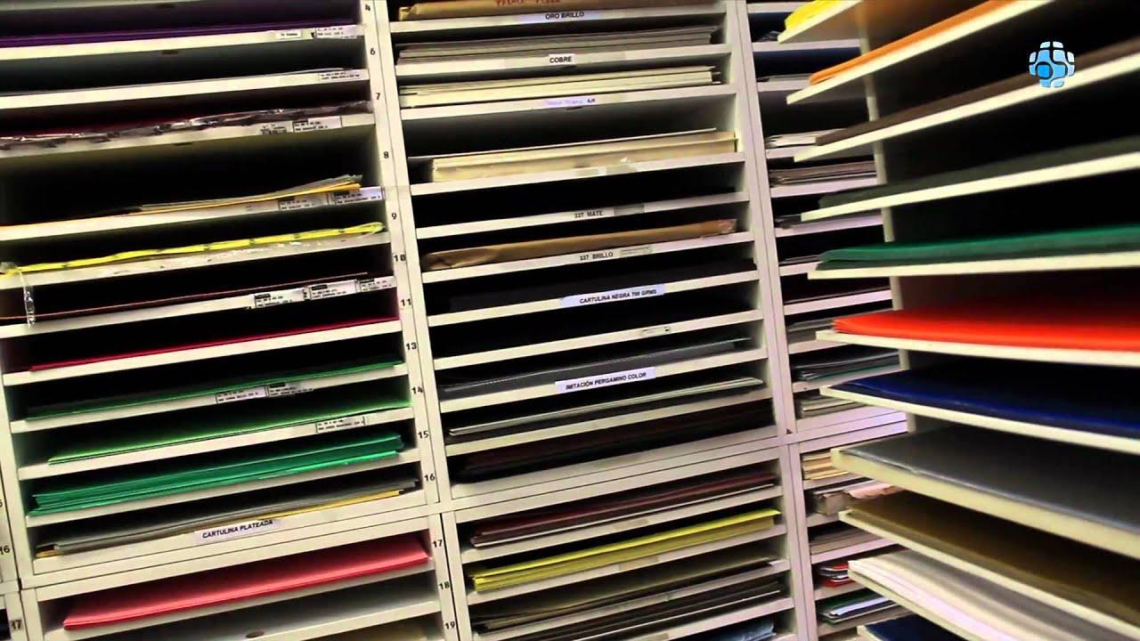 Papeler a t cnica en el centro madrid plaka t cnica youtube - Papeles adhesivos para muebles ...