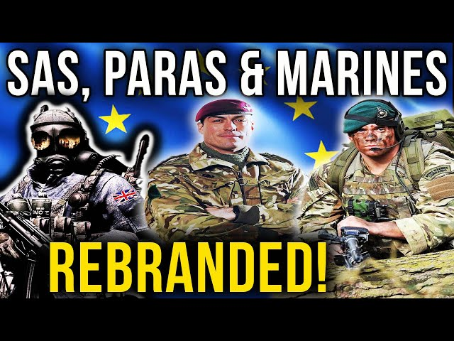 SAS, Paras & Royal Marines REBRANDED By EU! | David Ellis | Bought The T-Shirt Podcast #158