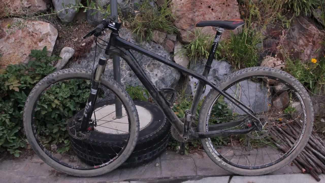 bike build timelapse for 29er chinese carbon frame