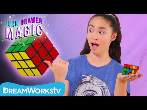 How to Solve a Rubik's Cube | JUNK DRAWER MAGIC