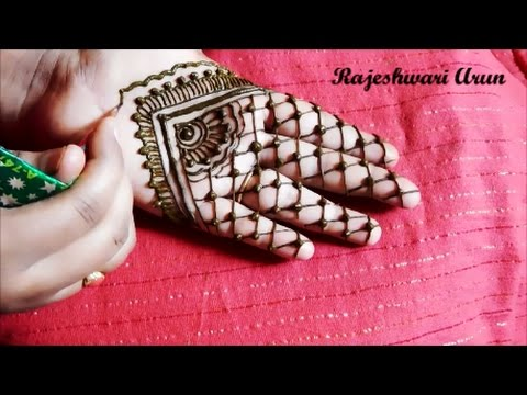 Simple Easy Henna Mehndi Designs Step By Step For Beginners