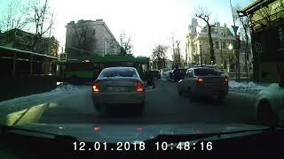 Видеорегистратор Prestigio RoadRunner 525. Тестовая запись (день/ночь)