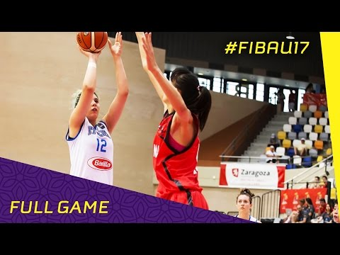 Italy v China - Semi Final - Full Game - FIBA U17 Women's World Championship 2016