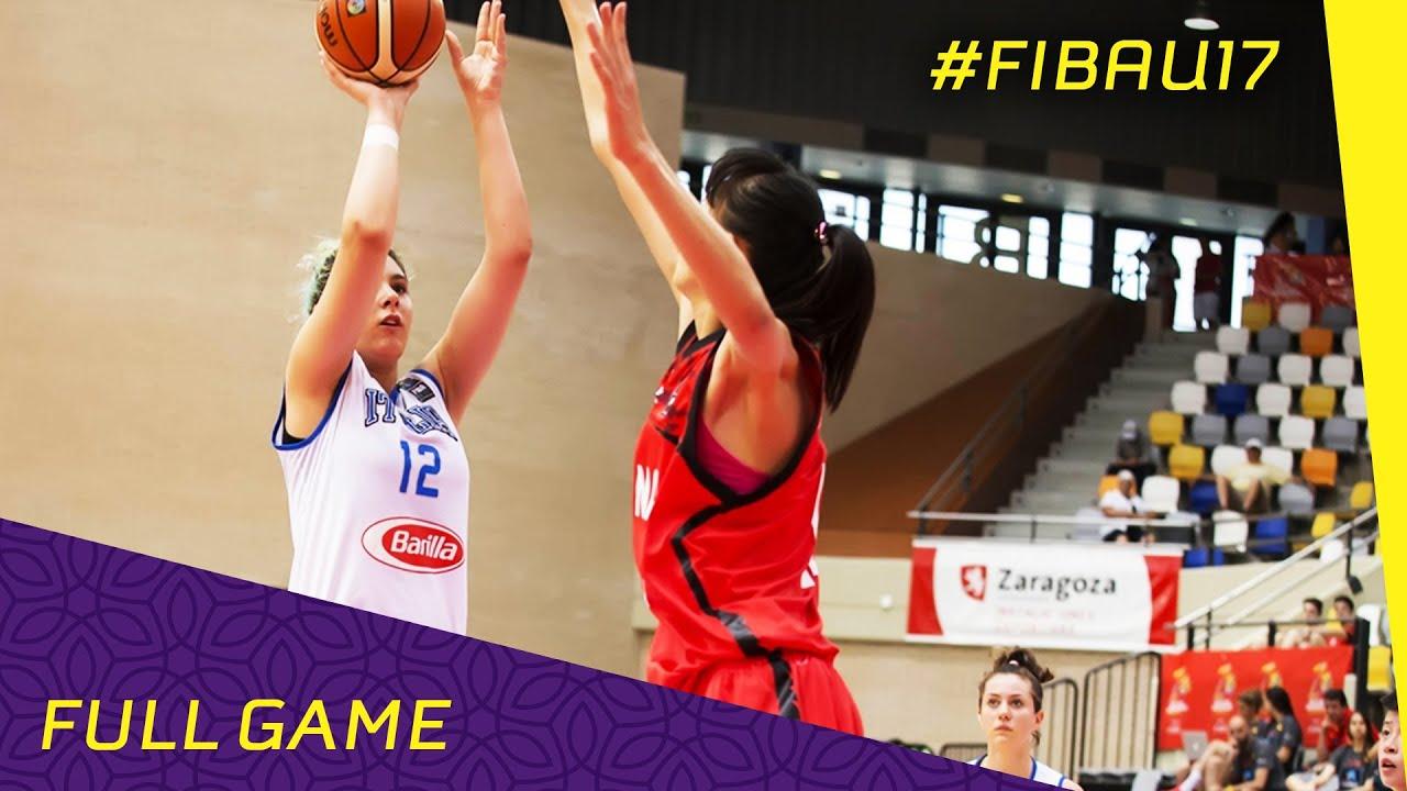Italy v China - Semi Final - Full Game - FIBA U17 Women s World ... 82d8c05507