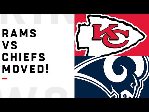 Rams vs Chiefs Game Moved from Mexico City