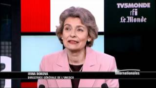 "Irina Bokova: ""Equilibrer les listes du patrimoine mondial de l'UNESCO"""