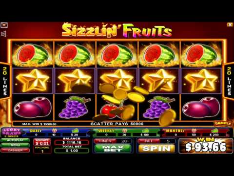 SIZZLIN FRUIT'S GAME