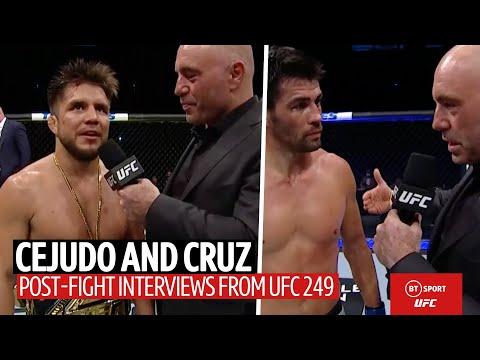 Henry Cejudo Announces His Retirement After Beating Dominick Cruz At UFC 249
