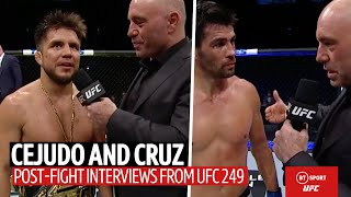Henry Cejudo announces his retirement after beating Dominick Cruz at UFC 249