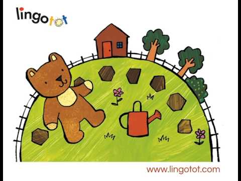 Round and round the garden like a teddy bear nursery rhyme garden ftempo for Olive garden fashion square mall