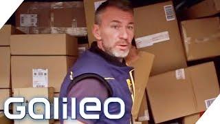 So hart ist der Job eines Paketbotens | Galileo | ProSieben