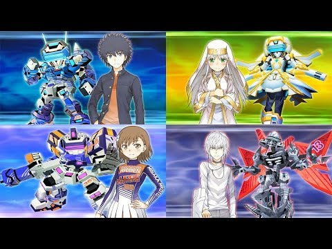 SRW X-Ω - A Certain Magical Virtual-On Debut (Get Ready! BGM) l スパロボxω とある魔術の電脳戦機 (バーチャロン) 新規参戦