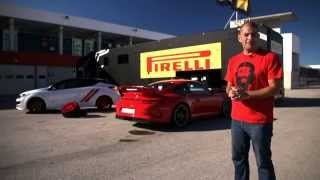 Pirelli P-Zero Trofeo R tyre test.