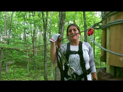 Zip Lining With Obstacles In Florida Pov 1 Doovi