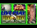 LIVE PLAY ** BIG WIN ** LUCKY DUCKY **