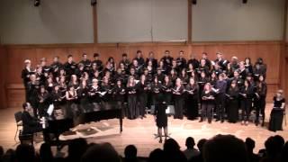 Erev Shel Shoshanim   ערב של שושנים  (Evening of Roses) -  stony brook chorale - arr. Jack Klebanow