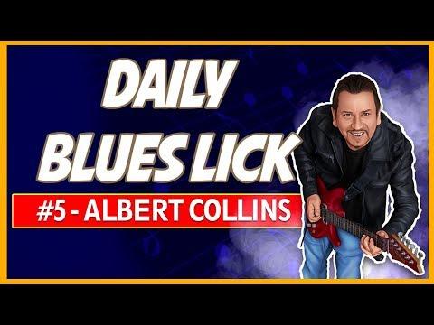 Albert Collins Blues Lick - Daily Blues Licks #5