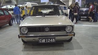 Volkswagen Golf Mk1 (1983) Exterior and Interior