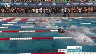 100-meter Butterfly Title Goes To Maxime Rooney   Champions Series Presented By Xfinity